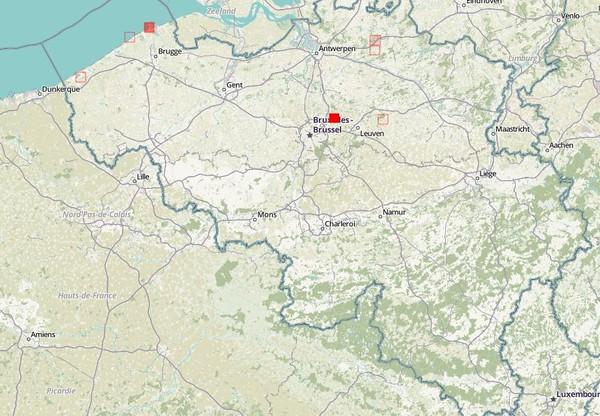 Observations en Belgique (2012-2017)