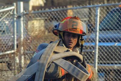 Training- Live Burn Wolcott State Fire School- 11/08/2019