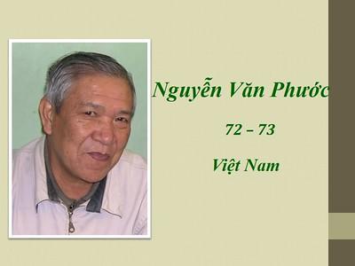 Nguyễn Văn Phước 72-73 VN