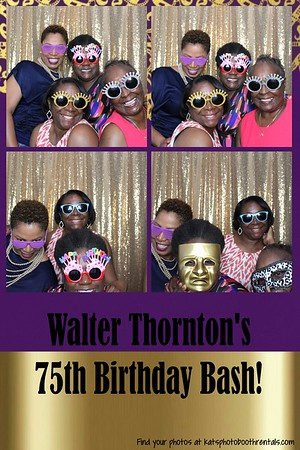 Walter's 75th