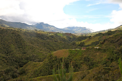 Manizales and Surrounding Areas