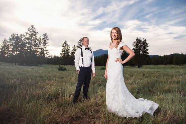 Alexandra and Dallas   Flagstaff Wedding