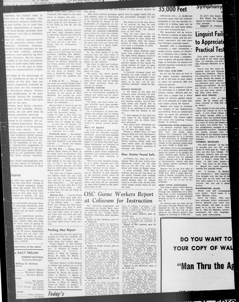 Daily Trojan, Vol. 33, No. 16, September 24, 1941