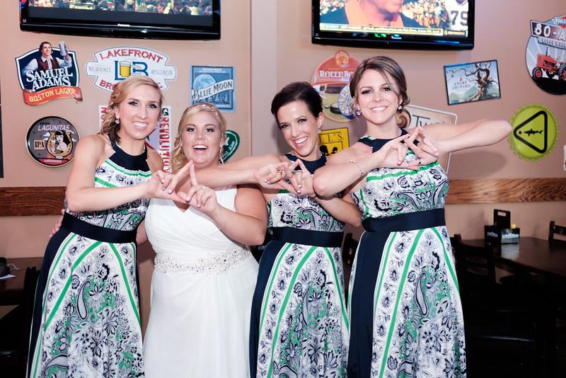 Bar Wedding Photos