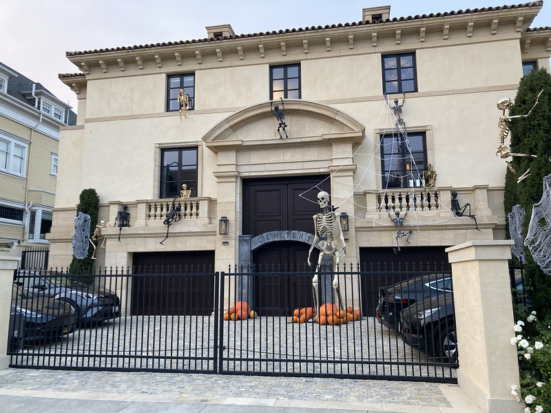 Halloween decorations are back in season
