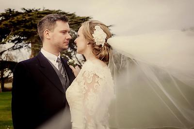 Harriet and Adam's Winter Wedding at Stubton Hall