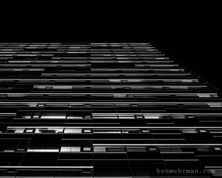Tall skyscraper in the city