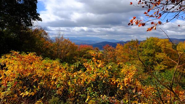 2016 Fall Blue Ridge and Mt Mitchell