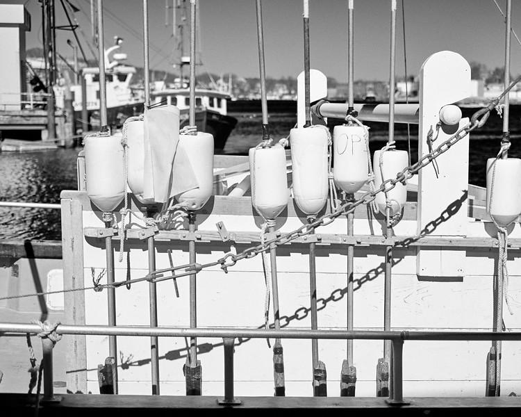 lobster boat detail - Gloucester harbor