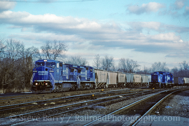 Conrail; King of Prussia, Pennsylvania; January 22, 1995