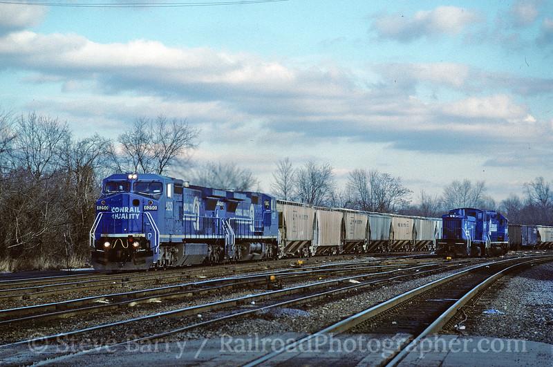 Conrail; King of Prussia, Pennsylvania; January 22, 1995