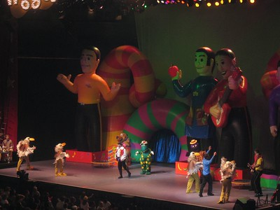 The Wiggles Concert: 4/21/05