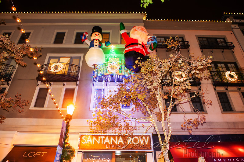 Santana Row's Annual Christmas Tree Lighting