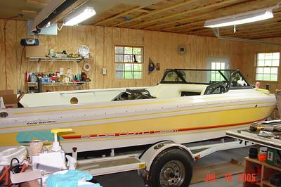 Supra Boat Rebuild 2005