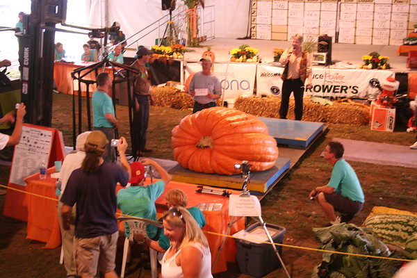 Day 11: Pumpkinfest - 6 October 2007