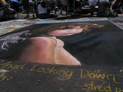 Santa Barbara Chalk Art Walk