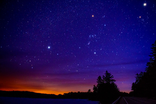 Algonquin Park Night Sky