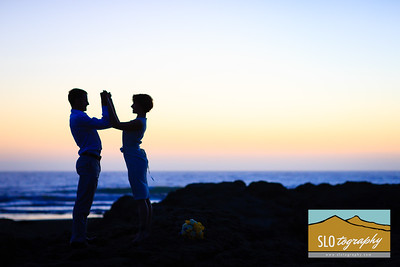 Marten+Serena ~ Morro Bay Beach Wedding