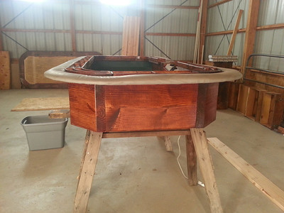 Craps table rebuild