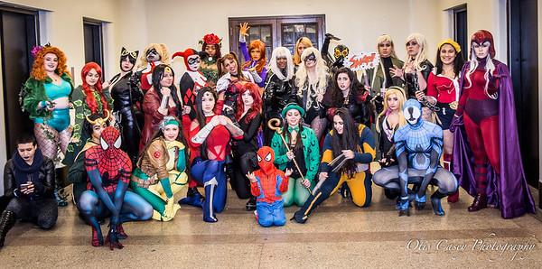 Big Apple Con 2016 DC vs Marvel