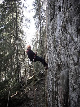Rock climbing 17.5.2014