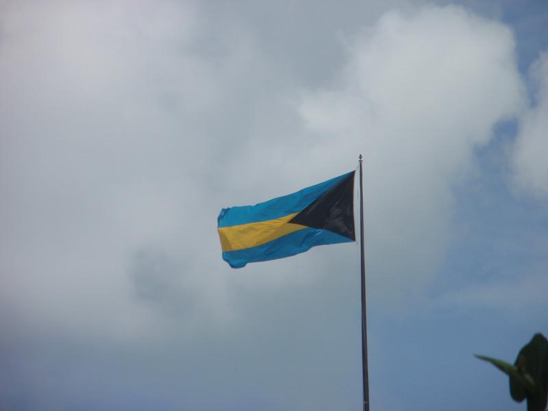 003_Bahamas Islands. Flag.JPG