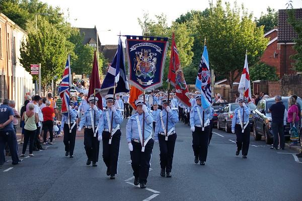 No 6 District Ballymacarrett Somme Memorial Parade