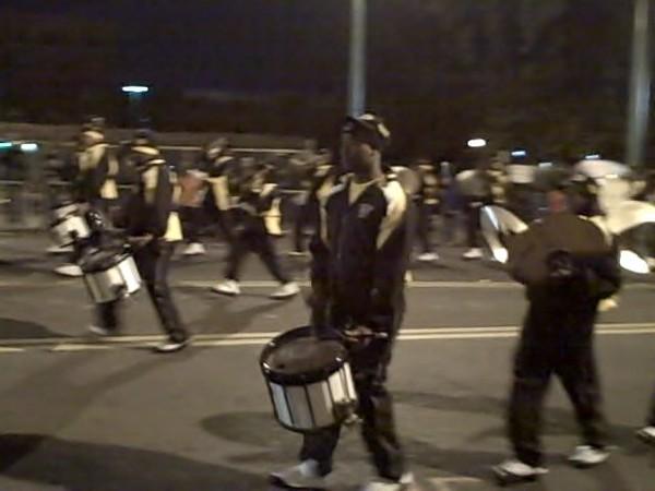 Whitehaven High Drumline, Parade.jpg