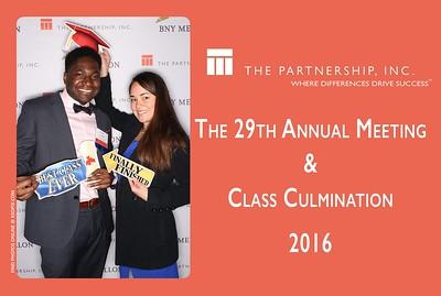12.13.2016 -The Partnership Annual Meeting & Culmination Graduation party