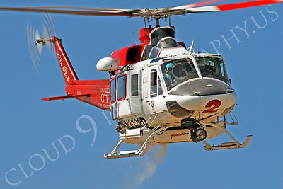 Bell UH-1 Iroquois Civilian Fire Fighting Helicopter Pictures