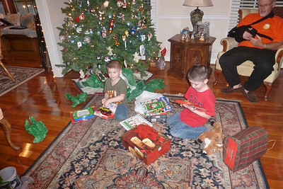 Portwood's Visit For Christmas at Vicky's 12-21-13