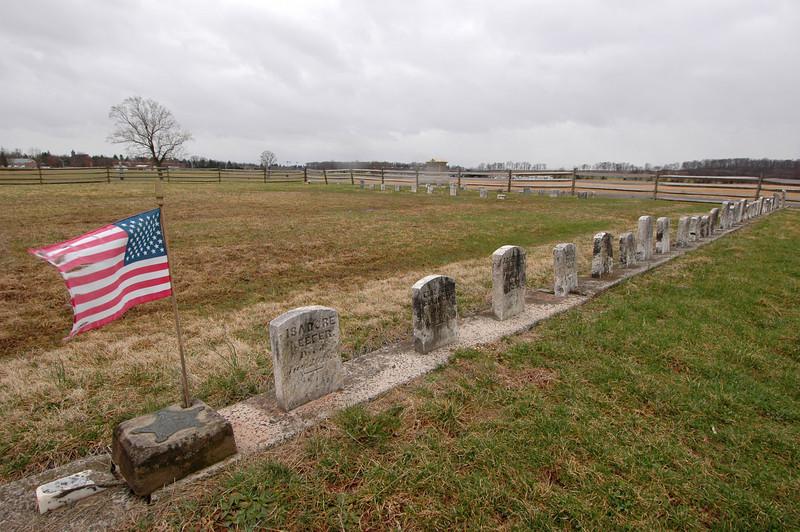 050404 2626 USA - Washington DC - Gettysburg - Graves B _D _E _N ~E ~L.JPG