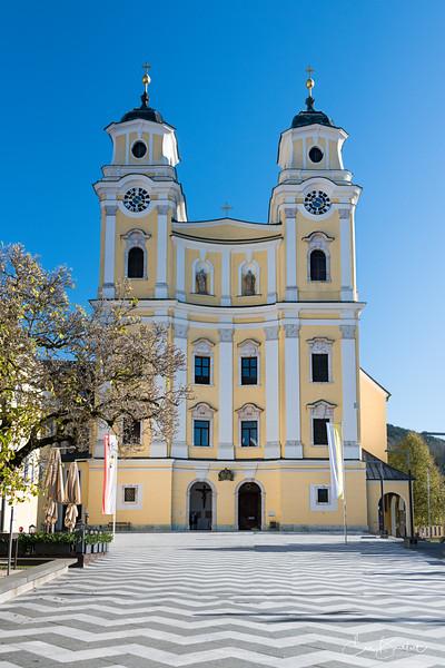 Mondsee Church, Austria