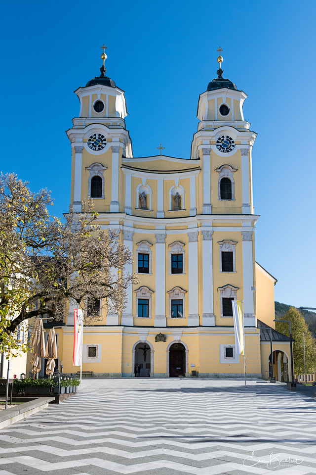 Mondsee Church, Austria