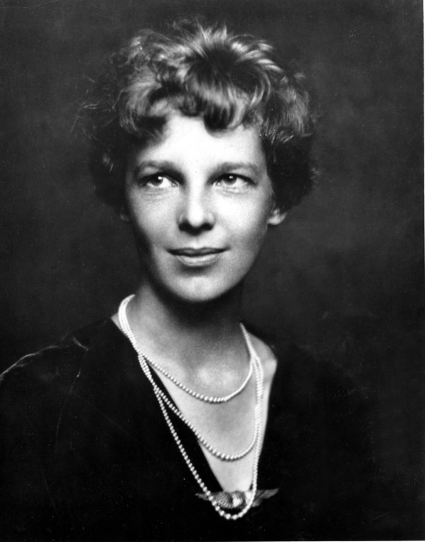 . This is an undated photo of Amelia Earhart.  (AP Photo)