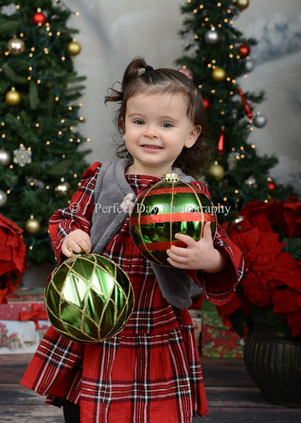 Maddie's Christmas Pictures