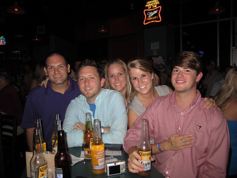 9/2/2011 ECU vs South Carolina  Jon Deutsch, Mike, Laurie, Ali,