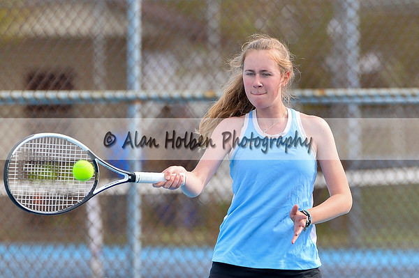 Varsity Tennis - Powers at Lansing Catholic
