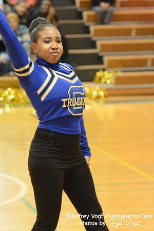 1-30-2016 Gaithersburg HS Varsity Poms at Damascus HS, Photos by Jeffrey Vogt Photography with Kyle Hall