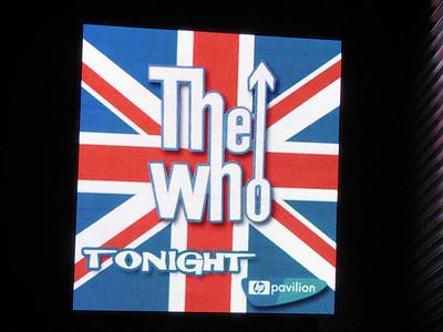 The Who - 8 Nov 06 - HP Pavilion - San Jose, CA