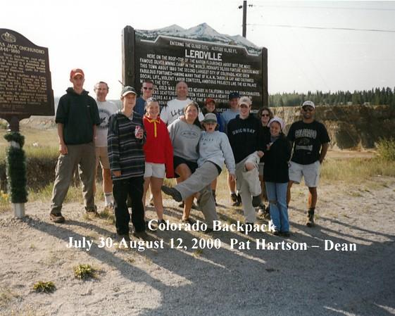 Camp Photos 2000