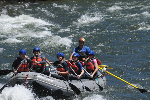 Whitewater Rafting 6/2017