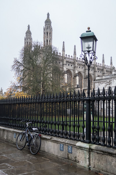 Cambridge, King's College Chapel