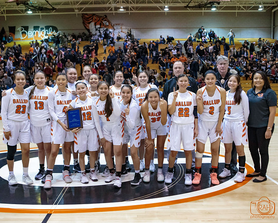GHS vs Shiprock Girls District Tournament Championship Game 2-29-2020