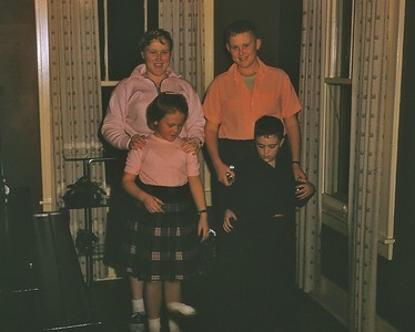 1955 Penny,  Ron, Susan & Jerry
