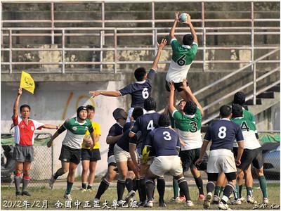 2012全國中正盃大專乙組-台灣大學 VS 陸軍官校(NTU vs ROCMA)