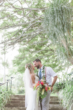 Jenae and Cory's Wedding At Kualoa Ranch