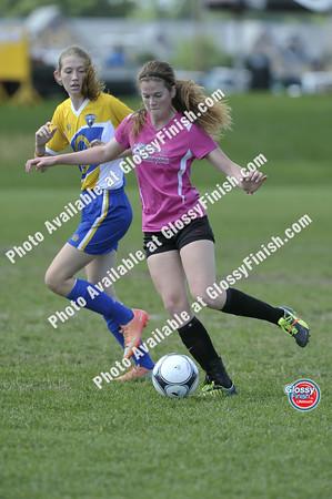 U16 Girls - Tracy Futbol Crossfire vs LUFC En Fuego
