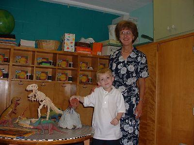 2003 08 Thomas goes to kindergarten