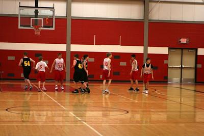 MS Boys Basketball 8B - 2009-2010 - 1/25/2010 Tri-County